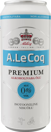 A. Le Coq Premium non-alcoholic isotonic wheat beer