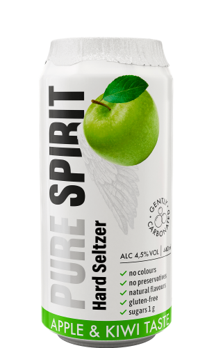 Pure Spirit Hard Seltzer Apple-Kiwi